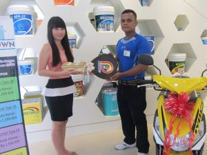 Lucky Draw PFF Paint juli 2016