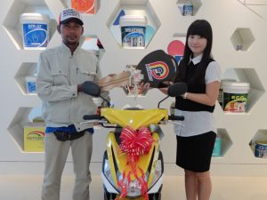 Lucky Draw PFF Paint juni 2016