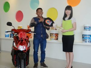 Lucky Draw PFF Paint oktober 2016