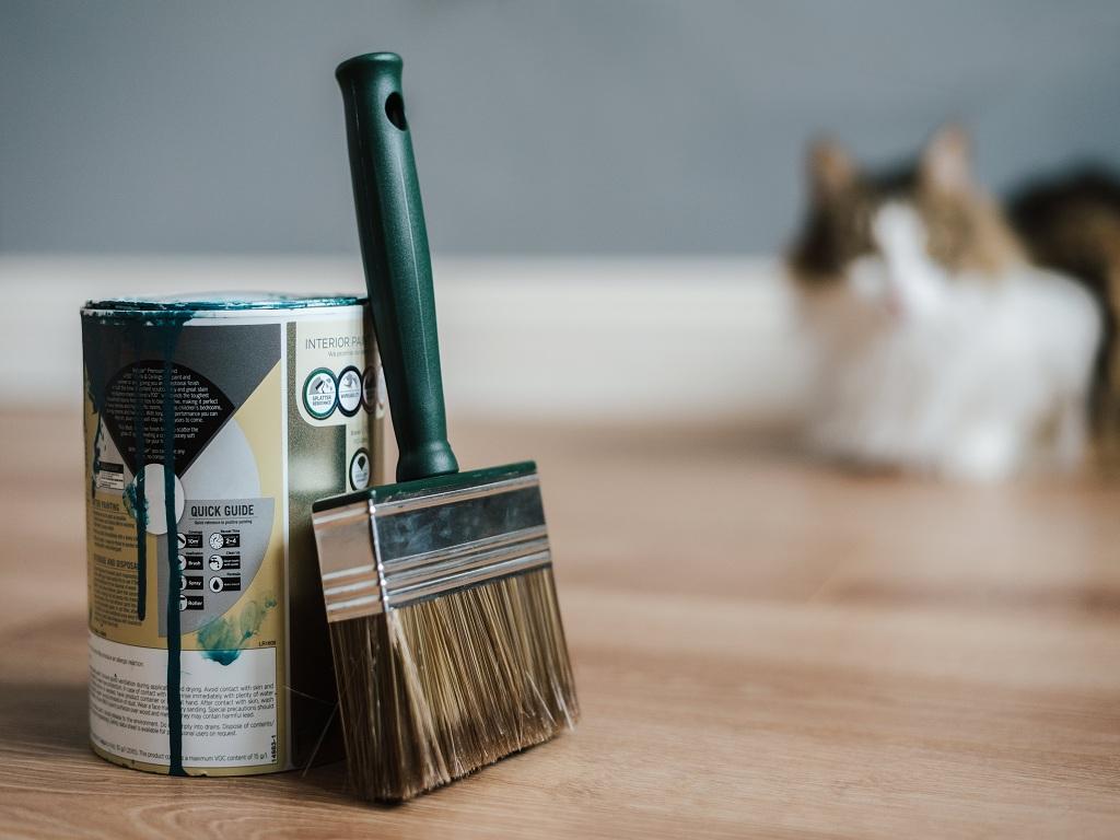 Jangan Dibuang Dulu, Manfaatkan Kaleng Cat Jadi Dekorasi Rumah